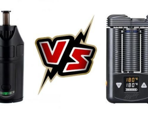 Mighty VS Ghost MV1 Vaporisateur Comparaison